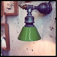 Nordic Loft Industrial Sconce Vintage Wall Light Fixtures For Home Iron Water Pipe Lamp LED Wall Indoor Lighting Lampara Pared