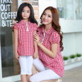 Family Matching Outfit Plaid Mother and Daughter Clothes Family Clothing Mom and Daughter Clothing Family Clothing Sets BER09