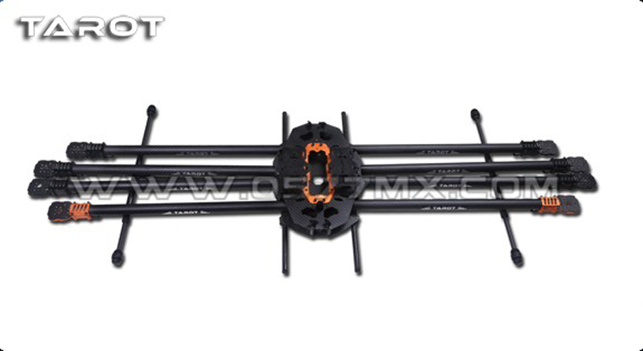 F07934 Tarot T15 Full 8 axis Carbon Aircraft Frame 3K Folding Hexacopter FPV TL15T00 tator rc multi rotor helicopter tarot t15 pure 3k carbon folding type octa copter main frame kit fpv tl15t00