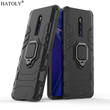 Vivo X27 Pro Case Cover for Magnetic Finger Ring Phone Shell Protective Hard PC Armor For