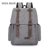 2017 Women Men Canvas Backpacks Large School Bags For Teenager Boys Girls Travel Laptop Backbag Mochila