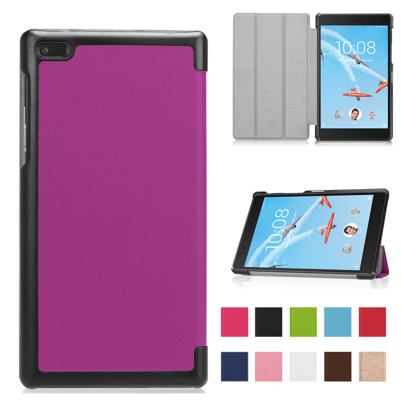 PU Leather Cover <font><b>Case</b></font> <font><b>for</b></font> <font><b>Lenovo</b></font> <font><b>Tab</b></font> <font><b>7</b></font> tab7 TB-<font><b>7504x</b></font> tb-7504f <font><b>Tablet</b></font> funda <font><b>Case</b></font> <font><b>For</b></font> <font><b>Lenovo</b></font> <font><b>tab</b></font> 4 <font><b>7</b></font> <font><b>case</b></font> image