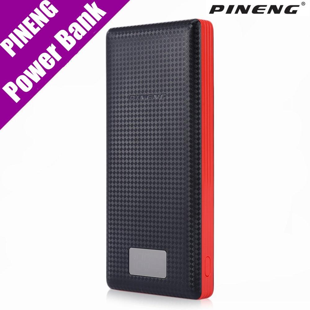 imágenes para Original Pineng Banco de la Energía 20000 mAh Batería Externa Powerbank PN-969 5 V 2.1A de Salida Dual del USB para Los Teléfonos Android tabletas
