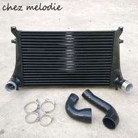 Intercooler radiator kit for EA888 engine Audi S3/Golf 7 GTI 7 MK7 R20, core dimensions 630*410*50mm, auto tuning