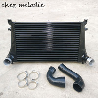 Intercooler radiator kit for EA888 engine Audi S3/Golf 7 GTI 7 MK7 R20, core dimensions 630*410*50mm, auto tuning