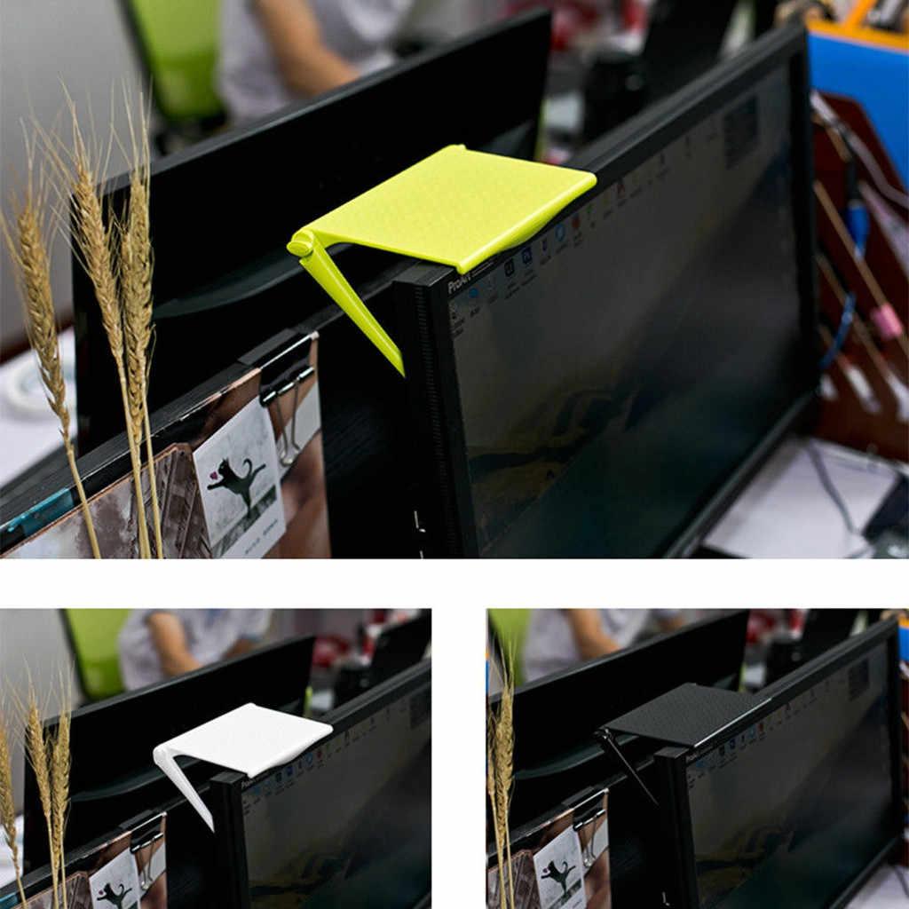 Monitor Komputer Riser Desktop Stand ABS TV Rak Display Rak Penyimpanan Meja