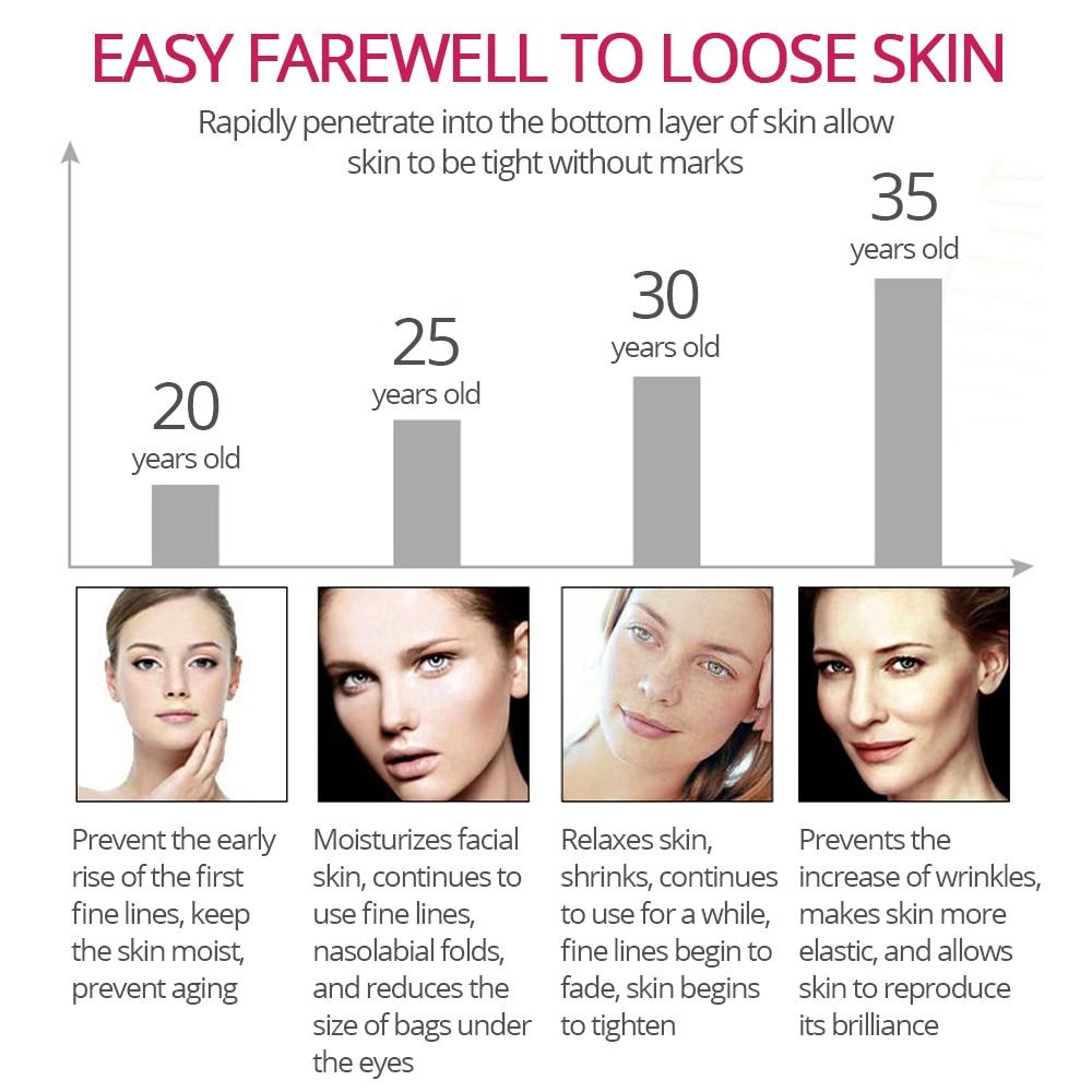 VIBRANT GLAMOUR Argireline Collagen Peptides Face Serum Cream Anti-Aging Wrinkle Lift Firming Whitening Moisturizing Skin Care 4