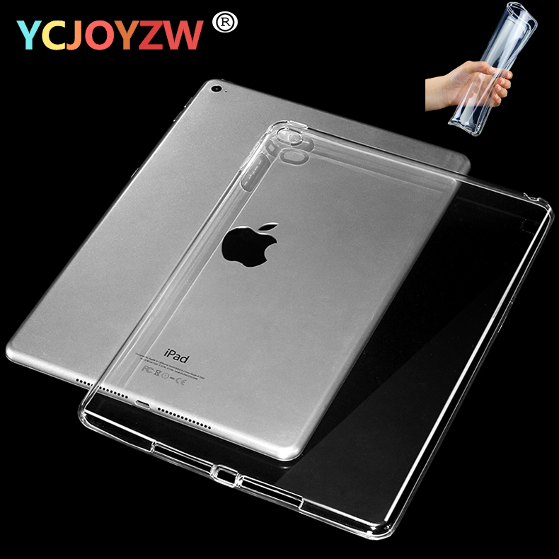 YCJOYZW Crystal TPU Case Cover For 2017 2018 New ipad 9 7 inch For ipad Air 1 2 For ipad Pro 10 5 Pro 9 7 mini 1 2 3 mini 4 Case in Tablets e Books Case from Computer Office