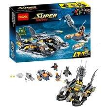 Decool Avengers Super Hero Batman Fighter Building Blocks Set Deep Sea Assault minifigures Kids Bricks Toy Compatible with legoe