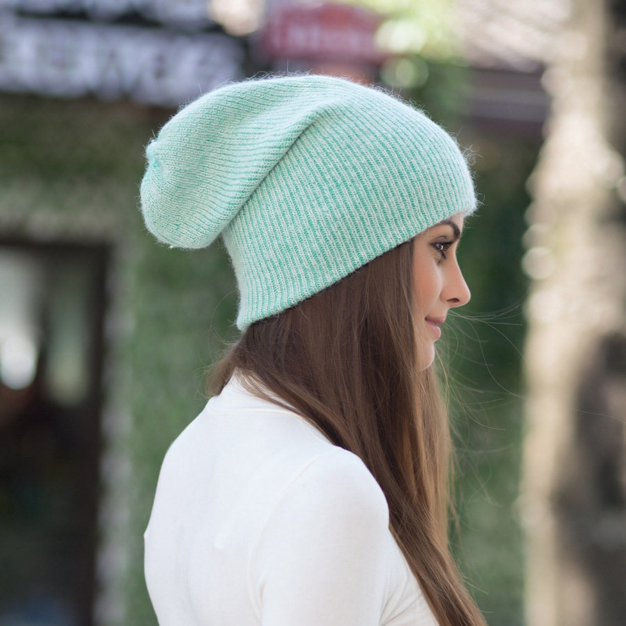 2017 New Autumn Winter Beanies Hats For Women Knitting Warm Wool Skullies Caps Ladise Hat Pompom Gorros (20)