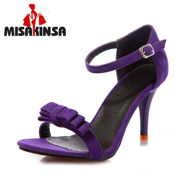 6ad7f26733e84 MISAKINSA szpilki Sandały Pasek Kostki Sandały Na Wysokich Obcasach Butów  Sandały Łuk Panie Sandały Zapatos Mujer Buty Rozmiar 34-43 PA00456