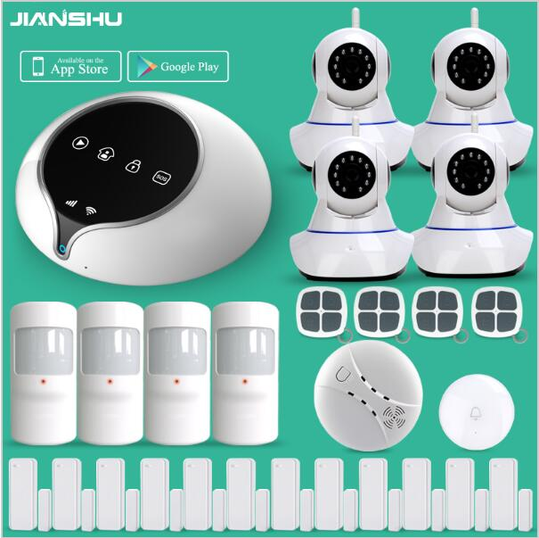 Newest 3G WIFI Alarm System Wireless Home Security Alarm System Support IOS Android APP Application WIFI Alarm System