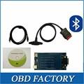 Vci ds-tcs cdp 2015. R1 obd obd2 OBDII scan Software com bluetooth tcs CDP Pro Plus diagnóstico trabalho ferramenta de carros e caminhões