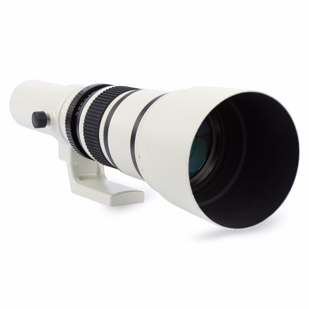 500 mm f / 6.3 valge telefoto fikseeritud esiklaas + T2 adapter - Kaamera ja foto - Foto 3