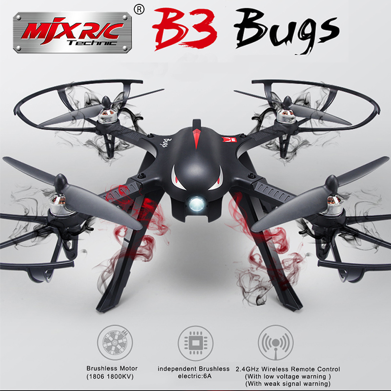 MJX Bugs 3 B3 RC Quadcopter Brushless Motor 2.4G 6-Axis Gyro Drone With 5.8G WIFI 720P FPV Camera Professional Dron Helicopter