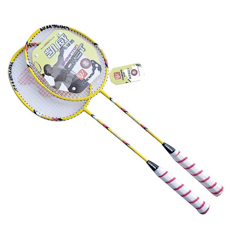 CAMEWIN Professional Badminton Racket Carbon High Quality Badminton Racquet 2 PCS Badminton Rackets+1 Bag  raquete de badminton