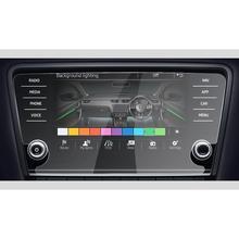 RUIYA экран протектор для Skoda развлекательная система Amundsen Octavia 8 дюймов автомобильный навигационный экран, Закаленное стекло Защитная пленка