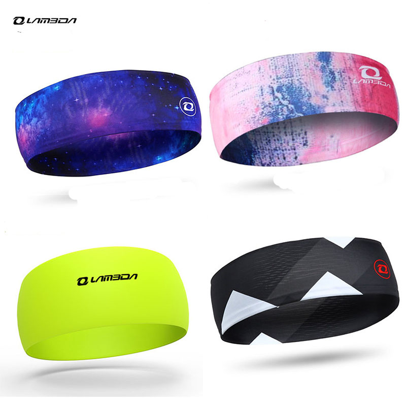 Cycling Headbands Equipment Sport Sweatband Riding Yoga Hair Elastic Bands Sweat Sports Men Safety Bandanas   Headwear