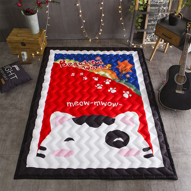 Thick Kids Crawling Pad Rectangle Baby Play Mat Game Rug For Children Cartoon Floor Carpet for Living Room Bedroom 145*195*2.5cm diaidi modern oriental area rug rectangle rug carpet washable soft rugs living room rug carpets for living room rugs and carpets for home living room kitchen rugs