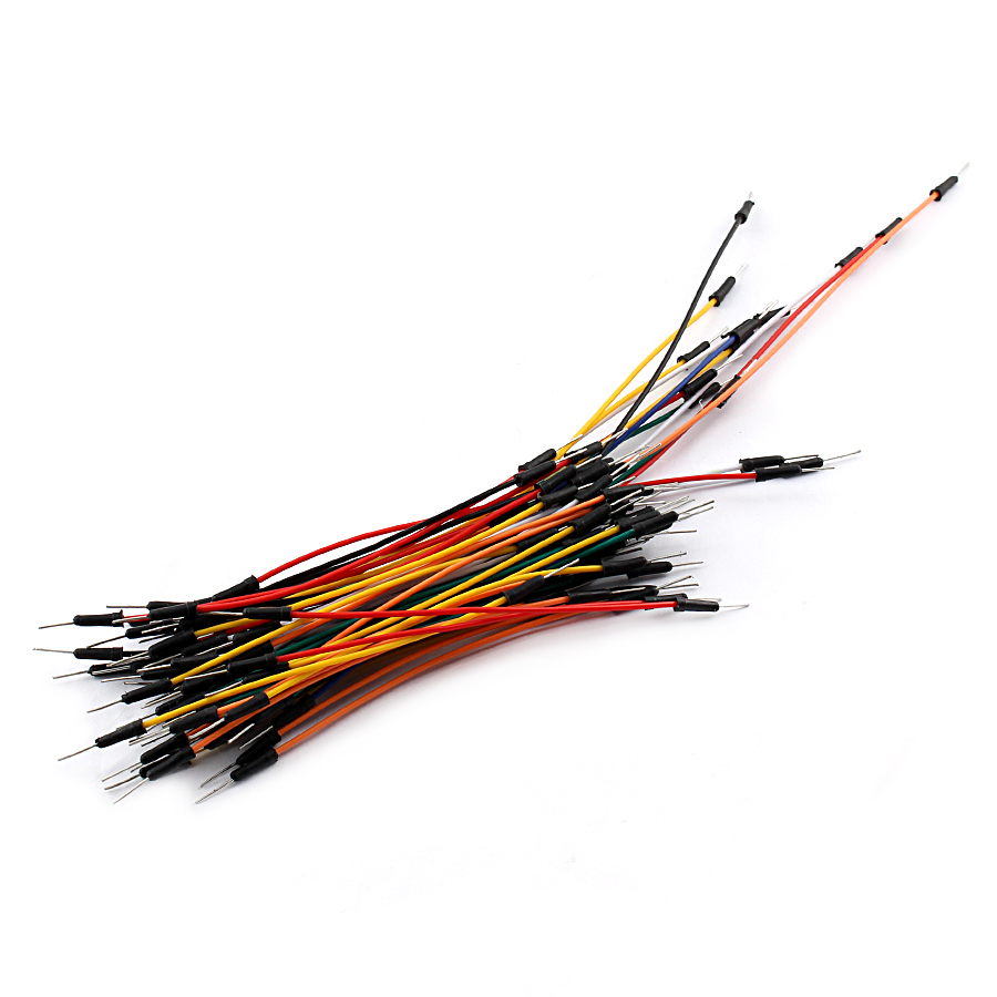 65pcs male to male solderless flexible breadboard jumper cable wires arduino ZYU
