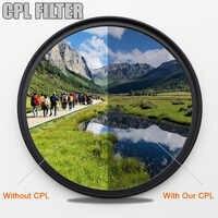 KENKO CPL Circular Polarisator Kamera filter Beruf filter für Canon Nikon DSLR Kamera objektiv 49/52mm/55 /58/62/67/72/77/82mm
