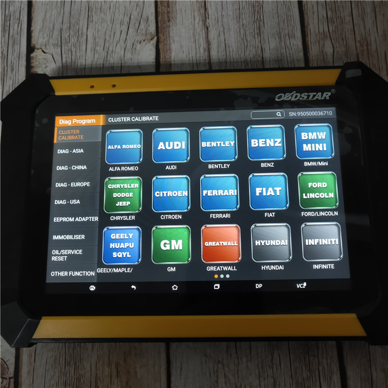 Image 5 - In StocK OBDSTAR X300 DP PAD Tablet Diagnosis and Auto Key Programmer Full Configuration With Fast shipping-in Auto Key Programmers from Automobiles & Motorcycles