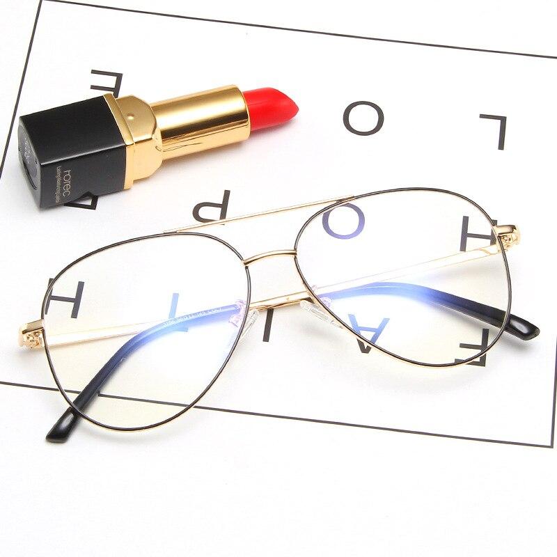 KOTTDO 2019 Metal Oversized Mes's Glasses Frame Vintage Prescription Eye Glasses Frames For Women Eyewear Glasses Frame Optical