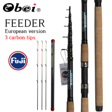 OBEI Fishing-Rod Telescopic Carp-Feeder Casting Spinning Travel Vara-De-Pesca 60-180g-Pole