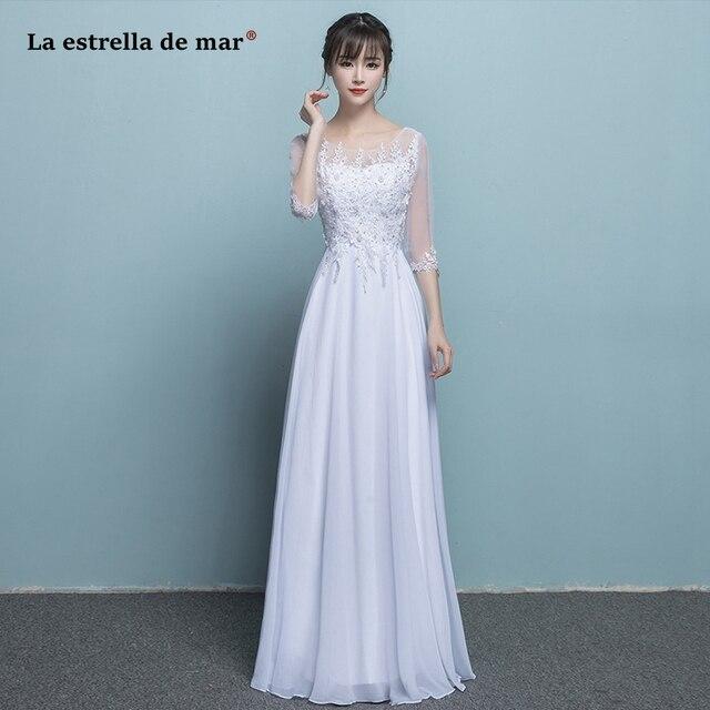 79f3824e0 Vestido de convidados do casamento de venda quente tulle frisado meia manga  UMA linha de dama