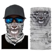 3D Animal Ski Mask Cycling Snowboard Scarf Neck Warmer Face Winter Balaclava Bandana Bike New Free Shipping