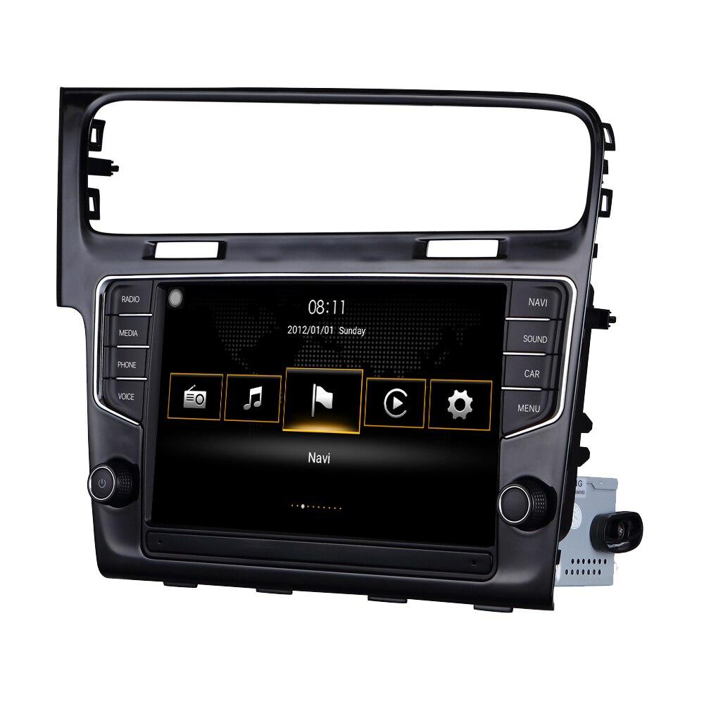 Pour VW Golf 7 MK7 VII 2014-2018 pour Volkswagen MIB 4 système Android Auto voiture lecteur multimédia Autoradio Bluetooth DSP MFD IPAS
