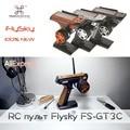 FlySky GT3C Transmissor RC controlador w/Receptor FS-GT3C 2.4G 3CH Gun Controlador GR3E Atualizado FS-GT3B RC Caminhão Do Carro barco