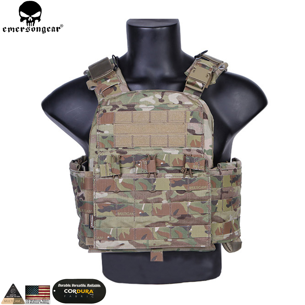 Emersongear CP Style CPC Tactical Vest CAGE Plate Carrier emerson Multicam Military Hunting Tactical Airsoft Vest