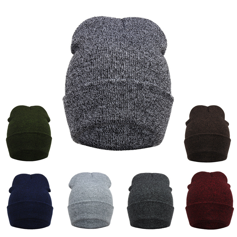 Fashion Cap Men Casual Hats Knitted Skullies Beanie Hat Warm Winter Hat for Women 300PCS/lot Wholesale leather skullies cap hats 5pcs lot 2278
