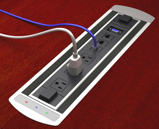V Usb Desktop Socket Pop Up For Conference Table On Aliexpress - Conference table power box
