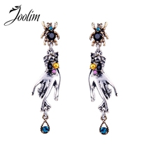 JOOLIM Jewelry Wholesale/2017 Earring Antique Christmas Gift Free Shipping