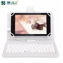 "2016 iRULU eXpro X4 IPS 7"" GMS Android 5.1 Tablet PC Quad Core Dual Core 1GB/16GB Bluetooth 4.0 HD 1280*800 w/EN Keyboard Case"