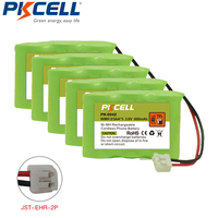 5 Pieces Cordless Phone Battery 3 6V 2 3AA 3 600mAh Replacement For Vtech CPH 403D