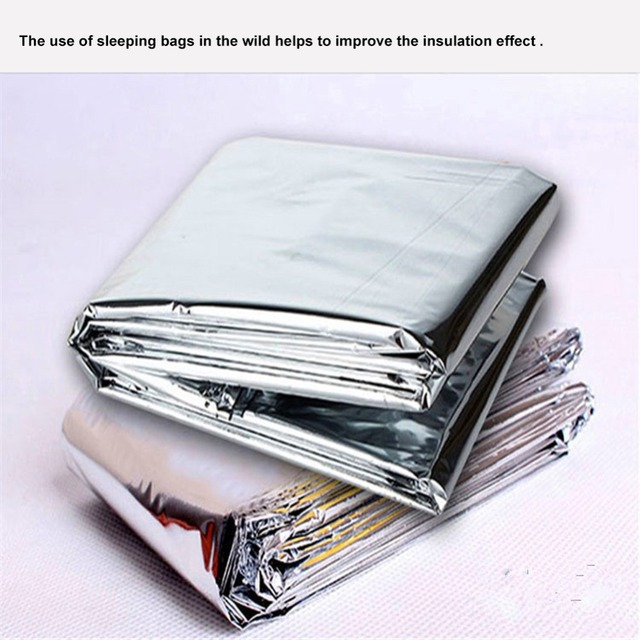 MQUPIN Sealed Fire Blanket Home Safety Fighting Fire Extinguishers Tent Boat Emergency Survival Fire Shelter Safety Cover