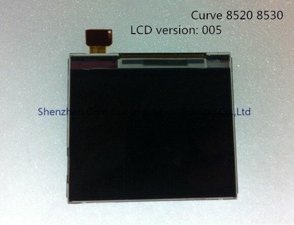 Para blackberry curve 8520 8530 versión 005 original del teléfono móvil lcd digi