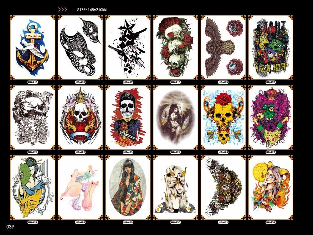 fácil de pegar cruel hombres tatuaje largo y largo brazo arte - Tatuaje y arte corporal - foto 3
