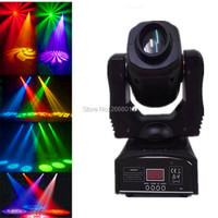 LED 60W Spots Light DMX Stage Spot Moving Head 8 Gobos Effect Stage Lights Mini LED