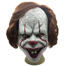 Latex Party Supplies Joker Mask Stephen KingS It Mask Clown Party Carnival Halloween Scary Masks Mascaras Full Face Funny Mask
