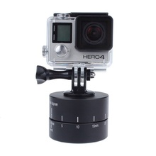 Новый 360 Градусов Вращая Головой Задержка Задержка Автоматический Наклон Головы + таймер аксессуары Спорт камеры Для GoPro Hero 4 Hero 3 Xiaoyi