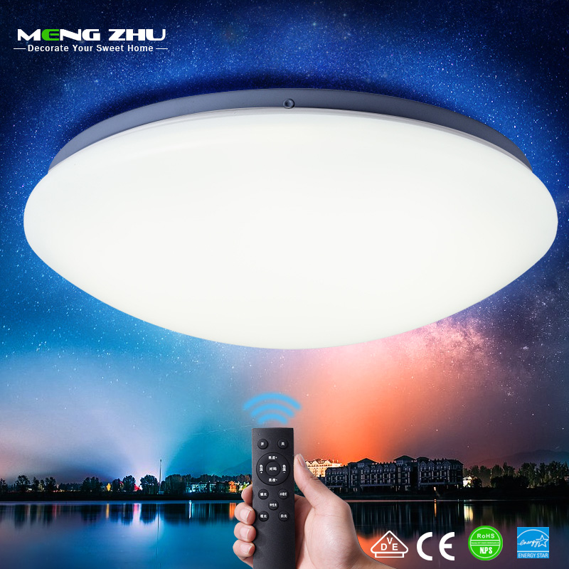 MENGZHU LED Ceiling Light Modern Lamp Lighting Fixture Bedroom Living Room Kitchen Surface Mount Flush Panel Ceiling LED Lights
