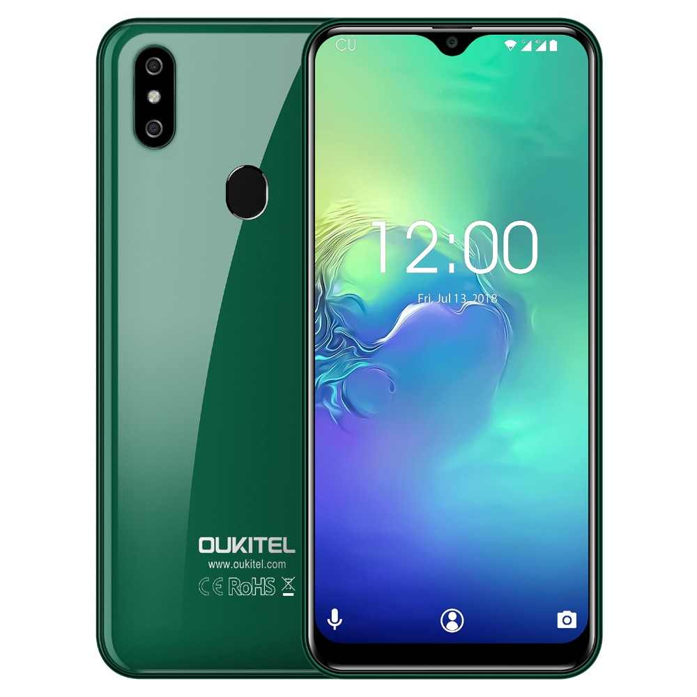 Мобильный телефон OUKITEL C15 Pro, 6,088 дюйма, 19:9, капля воды, 2 ГБ, 16 ГБ, Android 9,0, MT6761, четыре ядра, 4G, LTE, смартфон, 2,4G/5G, WiFi, Face ID
