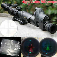 Night Vision Riflescope SNIPER NT 1-6X24 GL Riflescopes w/ Night Vision Monocular Tactical Optical Sight Hunting Rifle Scope