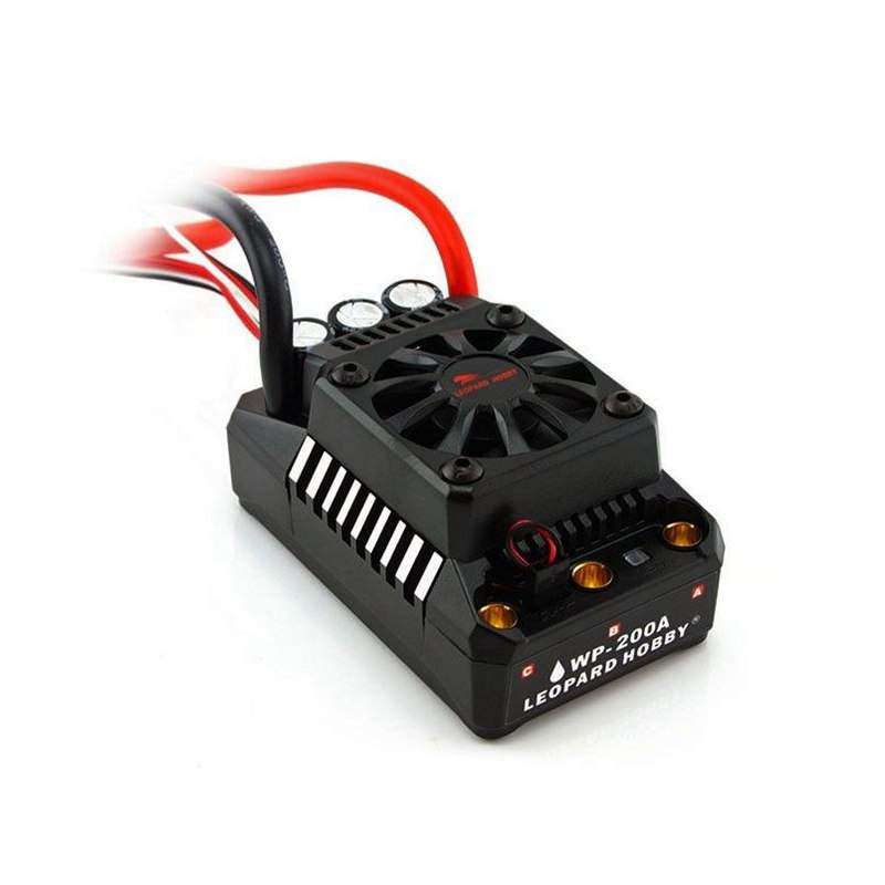 control Leopard Hobby RC-RUN TOP 5 V3 1:5 Brushless Regler 200A WP-BL200A