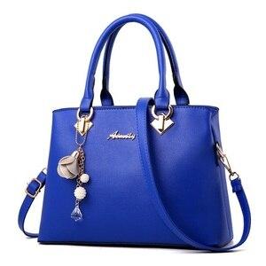 Image 2 - Fgjllogjgso novo 2019 moda tote senhora grande bolsa para bolsas de luxo bolsas femininas designer crossbody sacos de couro feminino bolsa