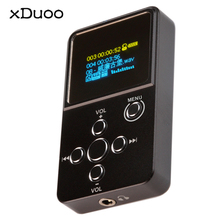 Newest XDUOO X2 Professional Lossless Audio MP3 HIFI Music Player with OLED Screen Protable Support MP3 WMA APE FLAC WAV
